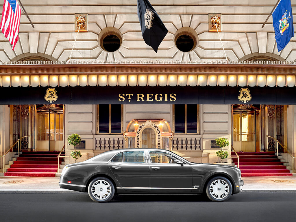 St. Regis Bentley Service